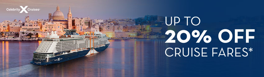 Celebrity's Always included - Drinks, Wifi, Tips on every sailing, in every room, every time!