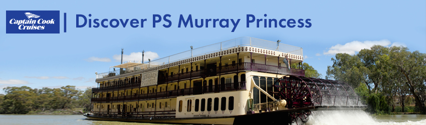 Sail the mighty Murray River - 3, 4 & 7 night sailings available!!