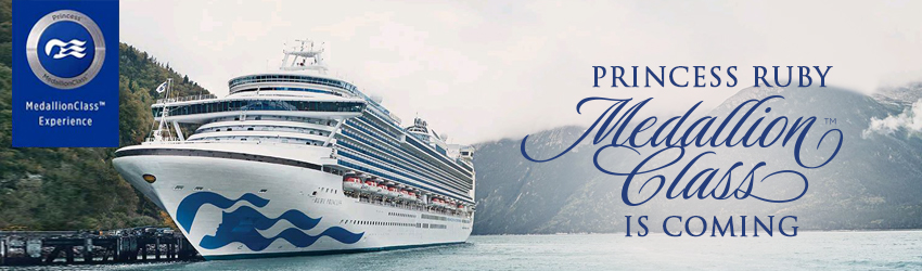 Ruby Princess is coming! The Countdown is on!
