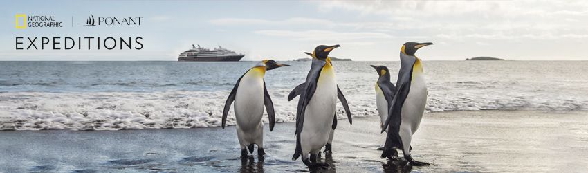 ANTARCTICA WITH PONANT & NATIONAL GEOGRAPHIC