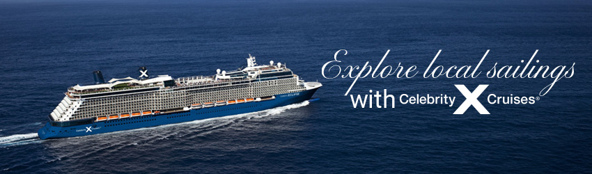 New Itineraries for Summer 22/23 on Celebrity Eclipse!