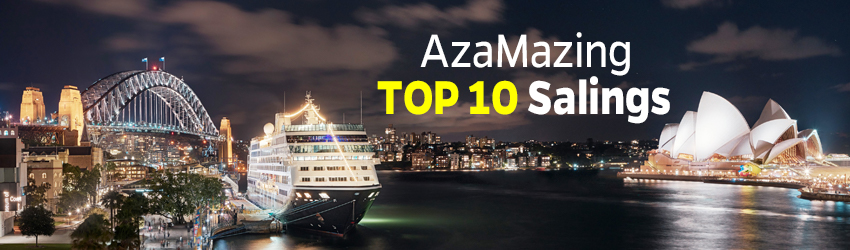 TOP 10 AZAMAZING CRUISES