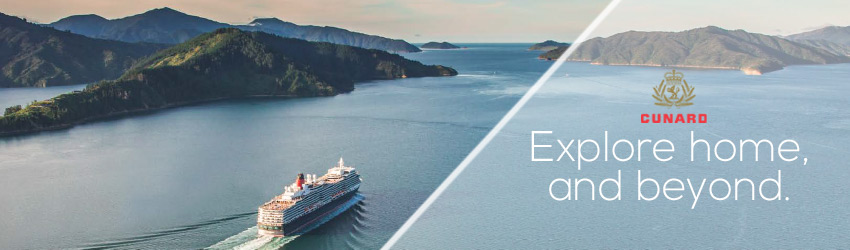 GREAT SAVINGS ON CUNARD QUEEN ELIZABETH