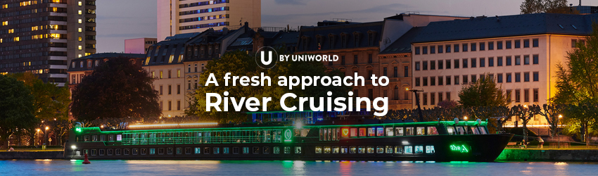 A FRESH APPROACH TO RIVER CRUISING
