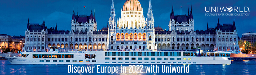 Uniworld Latest deals - 2022 Europe Rivers